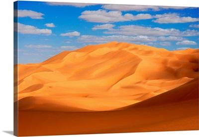 Erg Ubari Dunes In Libyan Desert