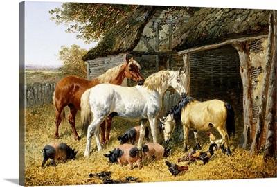 Farmland Friends By John Frederick Herring Jr