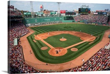 Fenway Park during a game in Boston, Massachusetts, 2015