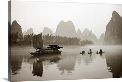 Fishermen in China