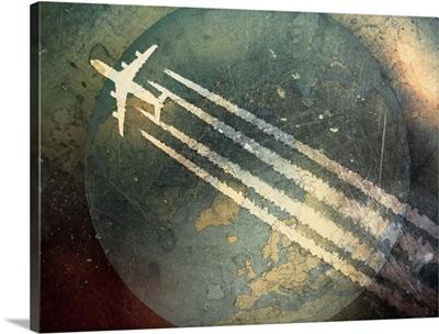 Flying around the world