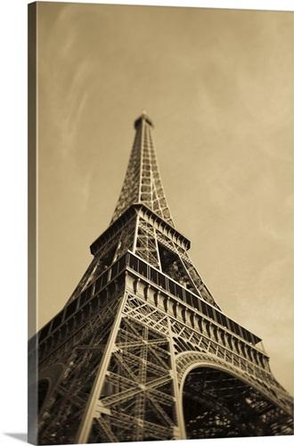 Fancy Metal Eiffel Tower Wall Art Crest - Wall Art Design ...