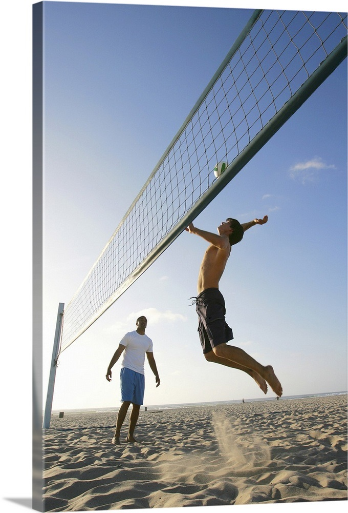 Friends playing volleyball Wall Art, Canvas Prints, Framed ...