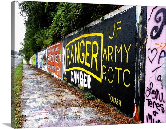 Gainesville, Graffiti Wall, Sanctioned for artists Wall Art, Canvas ...