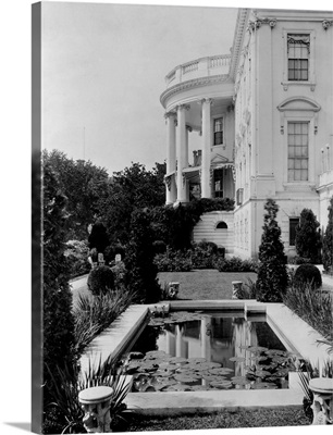Garden Pool By The White House