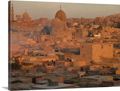 Glorious time to capture this side of Islamic Cairo bathed in soft glow of sunset amber.