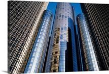 GM Building, Detroit, Michigan, USA