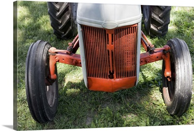 Grill of tractor