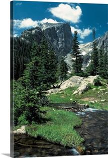 Hallett Peak, Rocky Mountain National Park, Colorado