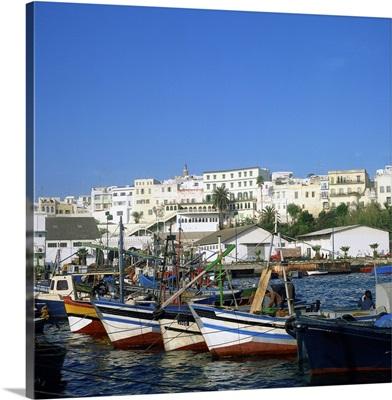 Harbor of Tangier, Morocco