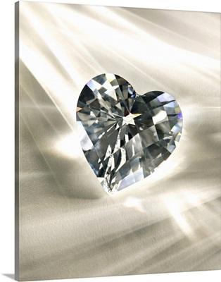 Heart-shaped diamond