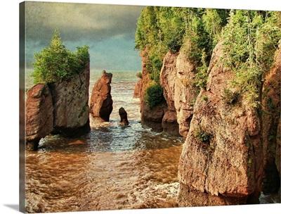 Hopewell rocks, New Brunswick, Ohio