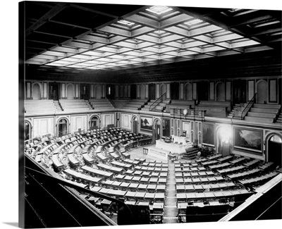House Chambers In The U. S. Capitol