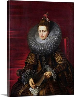 Infanta Isabella Clara Eugenia, Regent Of The Netherlands By Peter Paul Rubens