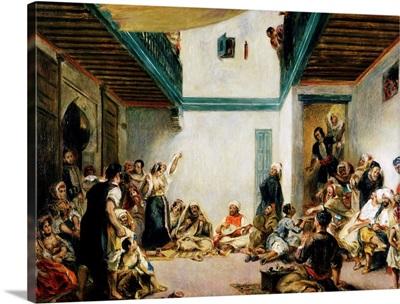 Jewish Wedding In Morocco By Pierre-Auguste Renoir After Eugene Delacroix