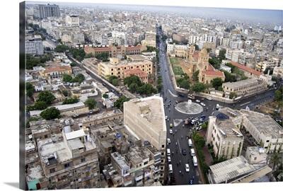 Karachi cityscape, Pakistan