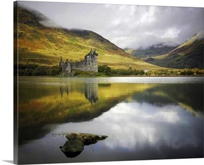 Kilchurn castle in Scotland.