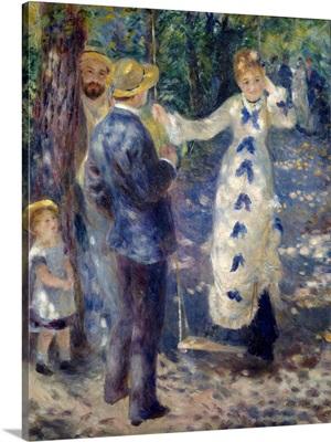 La Balancoire (The Swing) by Pierre-Auguste Renoir