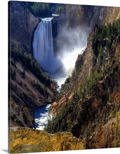 Lower Yellowstone Falls Yellowstone National Park