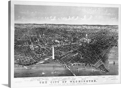 Map Of Washington D. C