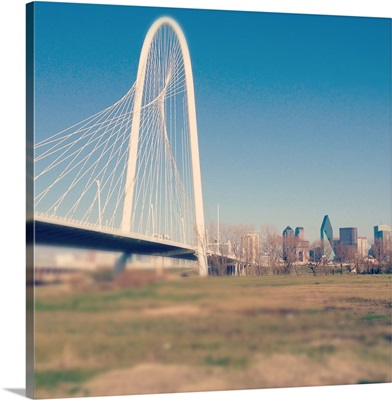 Margaret Hunt Hill bridge, Dallas.