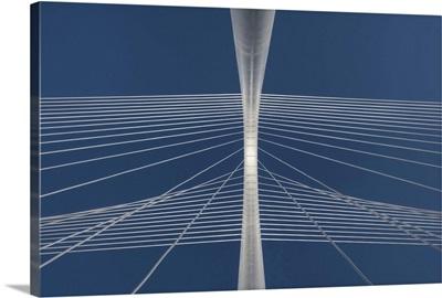 Margaret Hunt Hill bridge in Dallas, Texas.