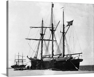 Meeting Of The Fram And The Terra Nova
