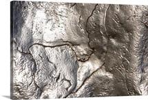 Metallic surface