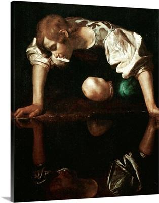 Narcissus by Michelangelo Merisi da Caravaggio