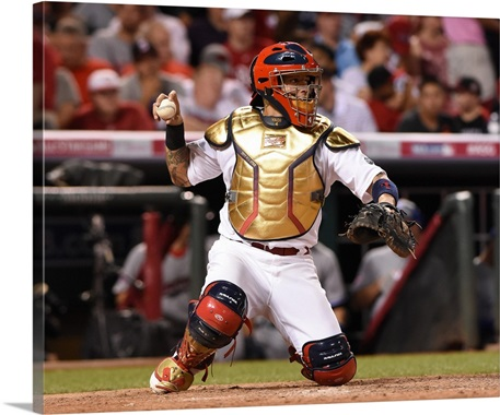 National League AllStar Yadier Molina Of The St Louis Cardinals - Yadier molina wall decals