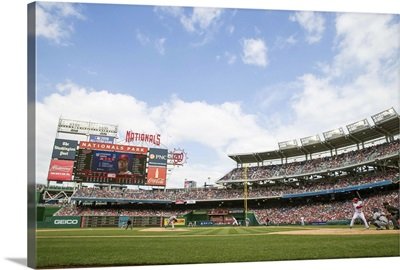 Nationals Park during a game in Washington, DC