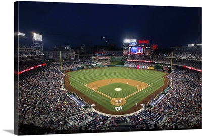 Nationals Park during a game in Washington, DC, 2016