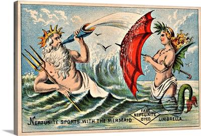 Neptunite Dye Victorian Trading Card
