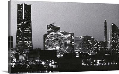 Night scene of Yokohama, Japan