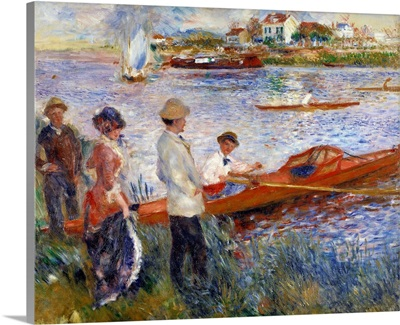 Oarsmen at Chatou by Pierre Auguste Renoir