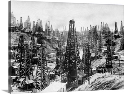 Oil Fields Of Yenangyaung