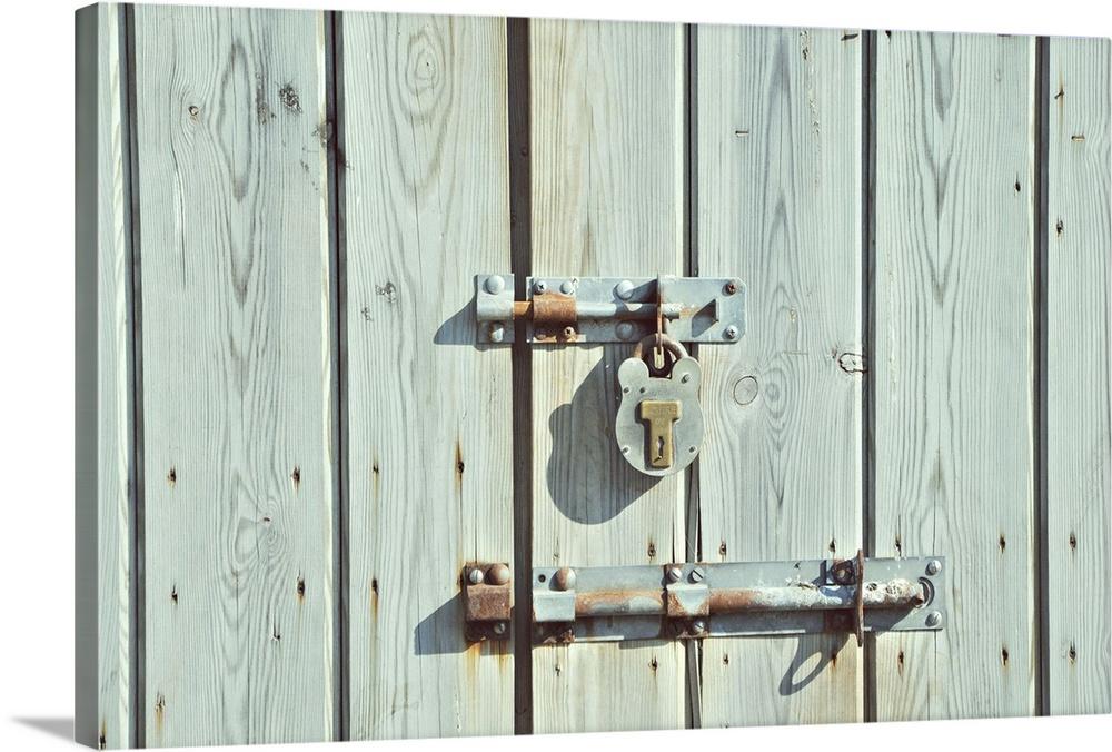 Old Barn Door Lock
