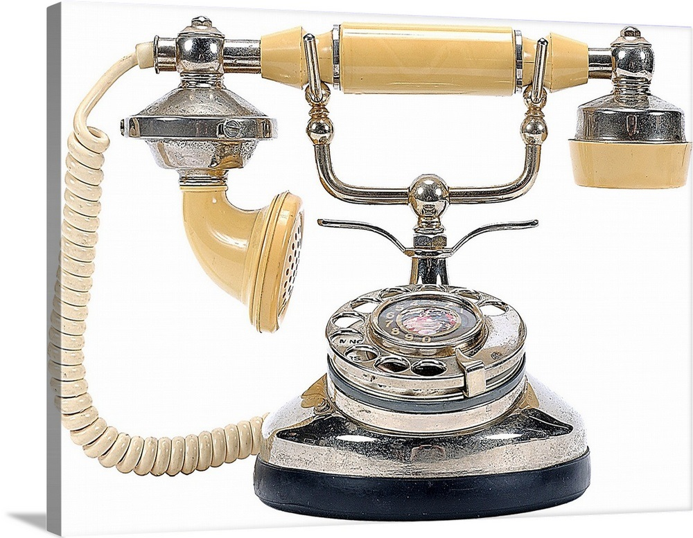 Old Fashioned Telephone Wall Art Canvas Prints Framed Prints Wall