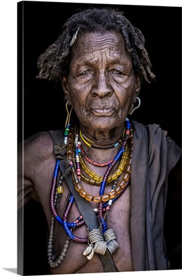 Old Woman From Arbore Tribe (Africa)