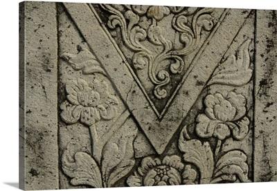Ornate flower design