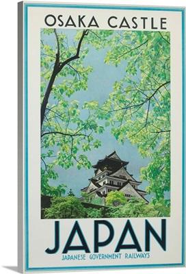 Osaka Castle Japan Poster