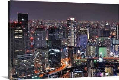 Osaka nightscape.