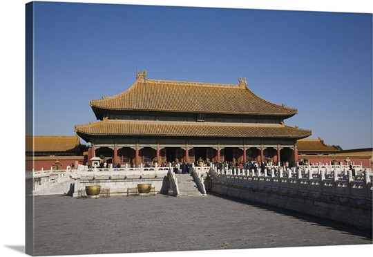 Palace Of Heavenly Purity Forbidden City Beijing China