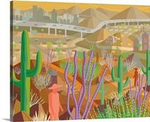 Phoenix Arizona Landscape