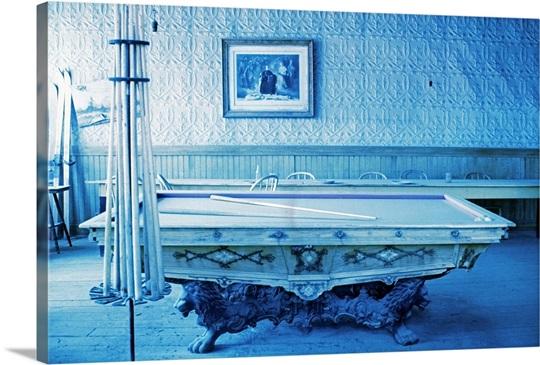 pool table Wall Art, Canvas Prints, Framed Prints, Wall Peels ...