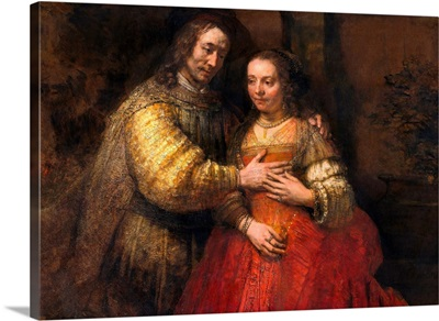 Portrait Of A Couple As Figures From The Old Testament, Known As The Jewish Bride