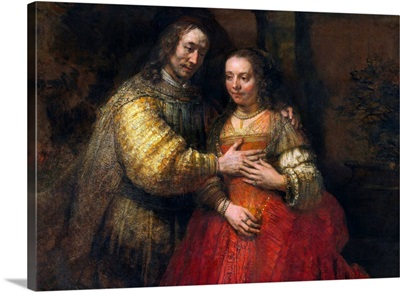Portrait Of A Couple As Figures From The Old Testament (The Jewish Bride)