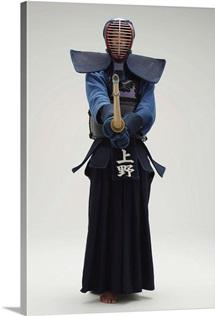 Portrait of a Kendo Fencer