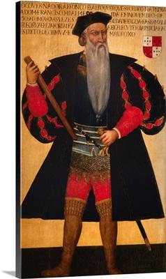 Portrait of Alphonse of Albuquerque