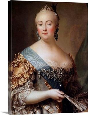 Portrait of Elizabeth Petrovna by Alexander Roslin